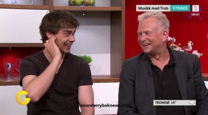 "Alexander Rybak en ""God Morgen Norge"" TV2 22.06.2015"