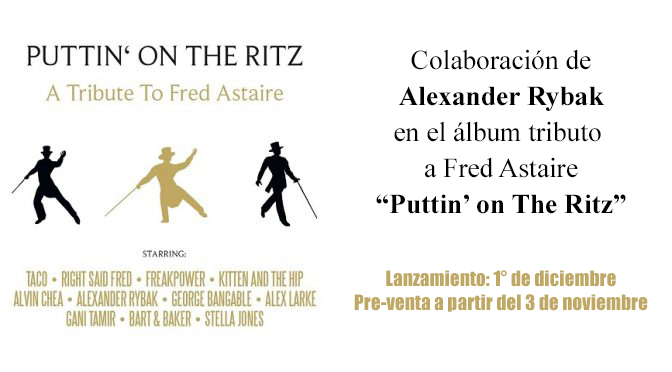 Puttin' on The Ritz – Tributo a Fred Astaire